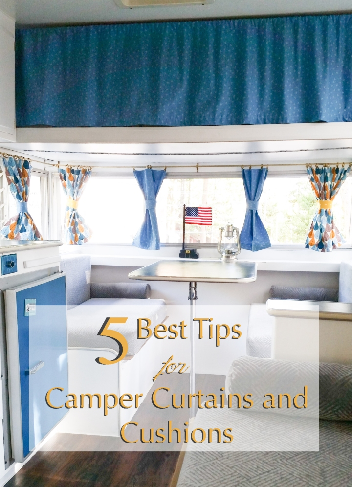 5 best tips for DIY Camper Curtains